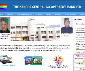 Recruitment in Kangra Central Cooperative Bank.