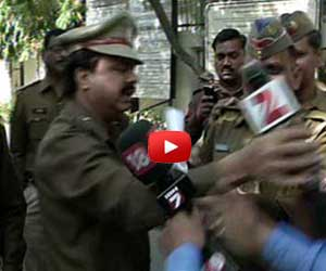 Singh Yadav Police officials abusing media in yadav singh case.