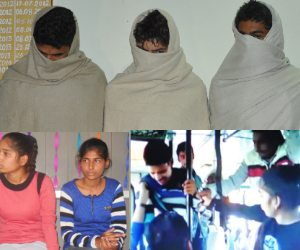 rohtak molestation case, accused three boy arrested