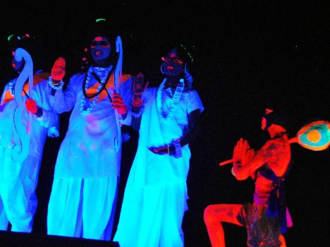 musicial ramayan shows at chitkara international school