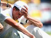 Photo Gallery: first Day at Brisbane Test.