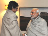amitabh bachchan meet pm narendra modi