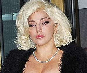 Lady Gaga Forgets Her Pants, Steps Out in Just a T-Shirt