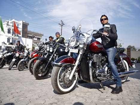 bikers rally in dehradun.