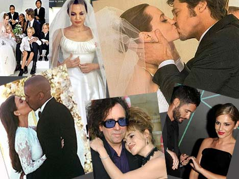 celebrity romance, heartbreak and babies