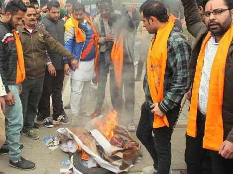 protest against aamir khan's PK, rampage in haryana