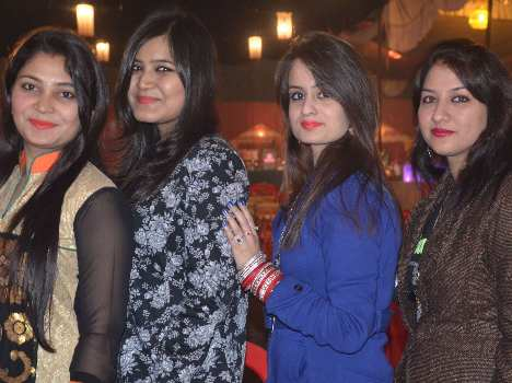 New year party in lucknow.