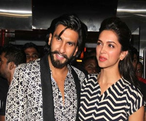 Deepika Ranveer Attend A Friend's Wedding in Delhi
