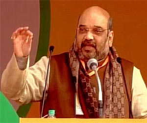 Modi country safe in the hands of Amit Shah.