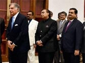PICS: Top industrialists of India in line to meet Barack Obama