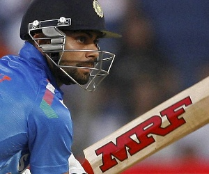 Kohli, Dhoni slide down; Shami gains 14 places in ODI rankings