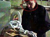 underwear thief caught on cctv red handed
