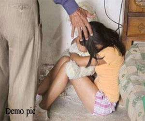 molestation with play school girl