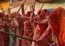 lathmar holi celebration in nandganv, mathura and barsana.