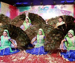 lathamar holi program in mathura of UP