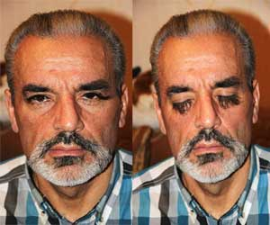 man with longest leyebrows in the world