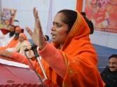 Sadhvi Prachi targets Laxmikant vajpayee.