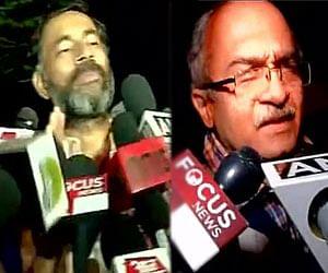 प्रशांत और योगेंद्र 'आप' की पीएसी से हुए बाहर