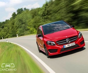 Mercedes Benz To Launch B Class Facelift on 11th March, 2015