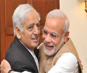 government formation in Jammu and Kashmir conselting after sangh agreement