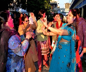 holi special: traditional holi in haryana