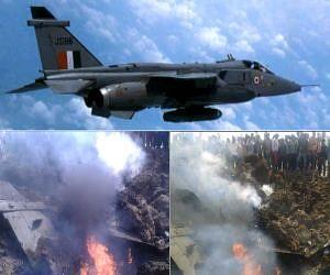 air force fighter plane Jaguar crash