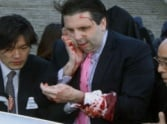 attack on american envoy in south korea.