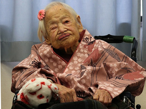 worlds oldest person turns 117