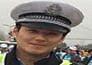 handsome officer creates a jam in marathon