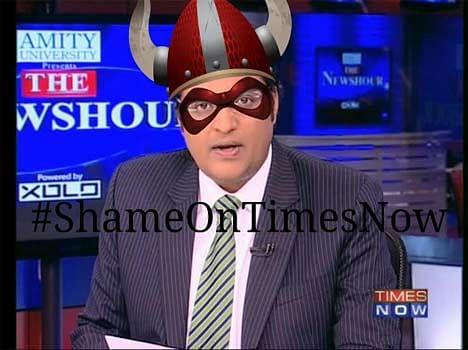 shame on timesnow trends tops on twitter