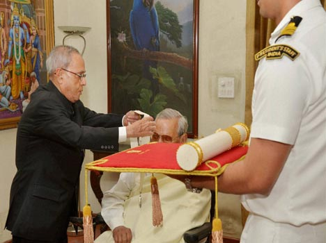 pictures: when president give bharat ratan award to atal bihari vajpayee