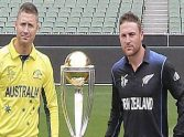 7 strongs player for Australia vs new zealand in world CUP final