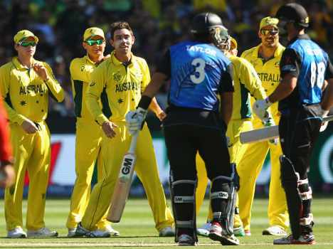 once again sleding By Australian Players in World Cup