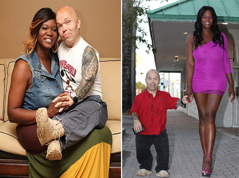 dwarf bodybuilder dating a transgendar tall woman