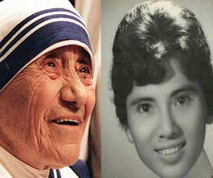 mother teresa in young age