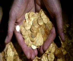 american researcher  find gold concept
