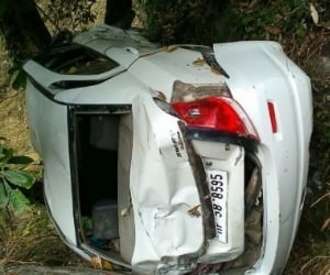 two died in road accidents in kinnaur and sirmour.