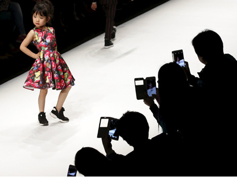 china fashion week kids collection