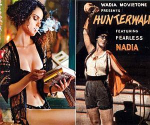 Kangana Ranavat play the role of hunterwali