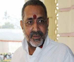 FIR filed against the giriraj kishore