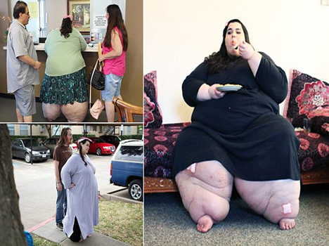 girl who weighs 292 kilos