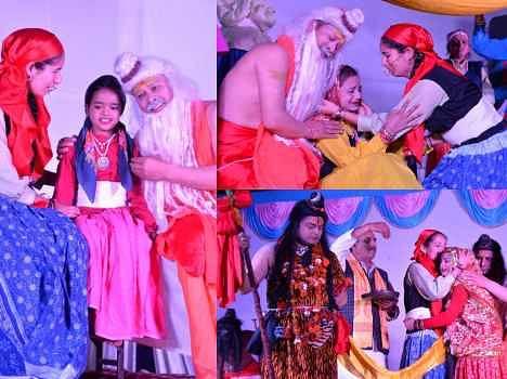 famous play nanda ki katha in shrinagar.