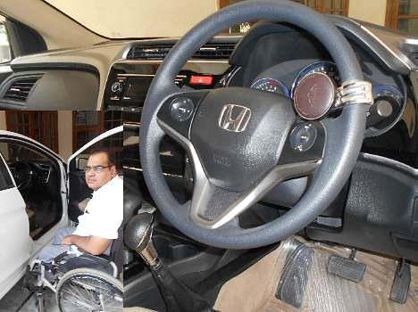 new technique, now handicaped also run car