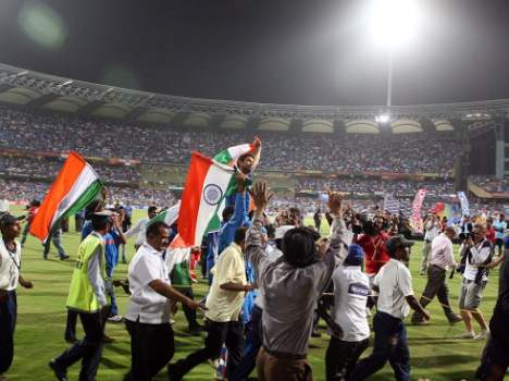 Team India wins their second World Cup In 2011