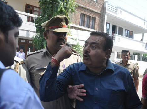 UPPSC chairman Anil Yadav's brother molested students in agra