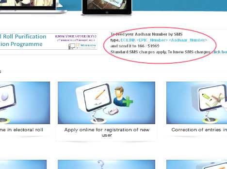 link your aadhar card with voter card, read tips