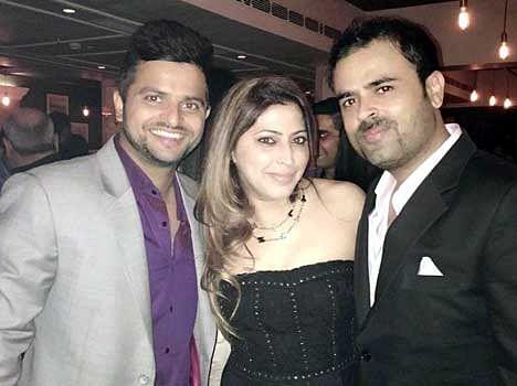 Suresh Raina Bachelor Party