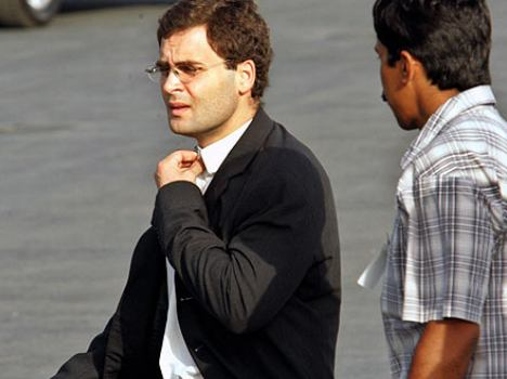 where is rahul? amethi ask question