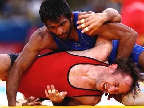 wrestler yogeshwar dutt want to win world championship.