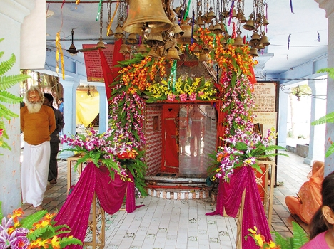 The district was a celebration of the Hanuman Chalisa Hanuman devotees in Jayntimndiron text